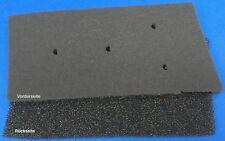 2 x HX Filter Bauknecht Whirlpool Privileg 481010716911 Schwammfilter