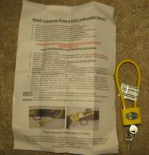 Mossberg -Firearms Lock With 2 Keys & Paper Instructions- Safety For Your Family