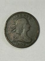 1804   Half Cent  plain 4