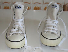 Scarpe/shoes Fila alte bianco panna/high white cream n. 42,5