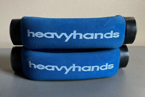 AMF Heavyhands 1 lb Screw On Walking Weights Dumbbell Heavy Hands Heavyhands