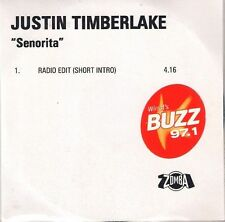 JUSTIN TIMBERLAKE<>SENORITA<>D.J. advance promotional CD