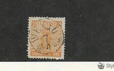 Sweden, Postage Stamp, #10a Used, 1858 Nice Cancel