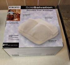 Homedics Sole Salvation Cordless Portable Foot Massage Pillow Model FM-1