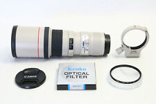 Canon EF 400mm f/5.6 L USM Lens EXCELLENT EOS DIGITAL Camera + BONUS FILTER!