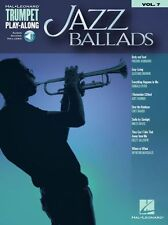 Trumpet Play-Along Jazz Ballads Songs Play Miles Davis MUSIC BOOK & ONLINE AUDIO