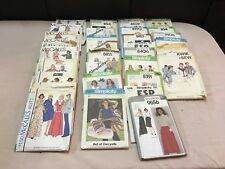 34 Vintage Sewing Patterns 1970's & 80's McCall Simplicity Most Misses' Size