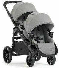 Baby Jogger City Select Lux Twin Tandem Double Stroller w/ Second Seat Slate New