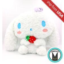 Japan Sanrio FuRyu Large Big Cinnamoroll Puppy Plush Strawberry Cream Doll Rare
