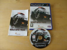 PLAYSTATION 2 / PS2 - WORLD SUPER POLICE - FREE UK P&P