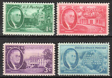 USA - 1945 Death of Roosevelt - Mi. 534-37 MNH