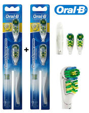 Oral-B CrossAction Power Whitening Toothbrush Replacement Brush Heads, (4Pcs)