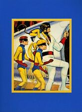 SPACE GHOST & The GANG Professionally Matted Print HB