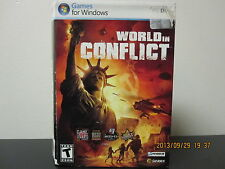 World in Conflict  (PC, 2007) *Tested/Complete