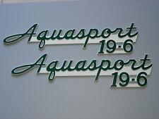 Aquasport196  Boat Emblems (PAIR)