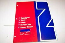 Vintage Catalog #933 - 1975 NORCO book cover - decal - label  catalog