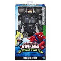 Marvel Spiderman Marvel's rhino action figure 30 cm serie titan hero hasbro