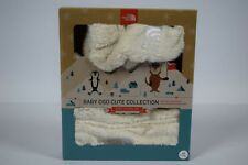 NWT Unisex North Face Baby Osocute Set RTO Vintage White Hat Mittens sz XS 6-24M