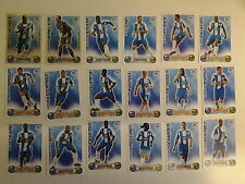Set of 18 x Match Attax Cards 2008 - 2009 Wigan Athletic incls 2 Star Players