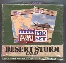 1990-91 Pro Set Desert Storm Cards Box