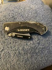 "Husky black box cutter 6"" with belt clip🇺🇸😎"