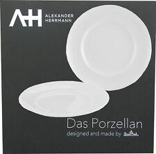 Rosenthal Alexander Herrmann Gourmetteller Classic 2-teilig Porzellan Teller