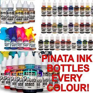 FULL SET Jacquard Pinata Alcohol Inks Bottles for Glass Wood Paper Paints Yupo +