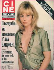 ▬►Ciné Revue 21 (1972) MYLENE DEMONGEOT_GINA LOLLOBRIGIDA_FELLINI_J.C DROUOT