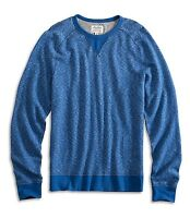 Lucky Brand - Mens S - NWT - Blue French Terry Cotton Crew Sweatshirt Shirt