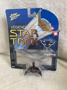 Johnny Lightning NIB 2004 Legends of Star Trek Romulan Bird Of Prey Die Cast