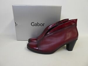 Gabor - Ladies Red Ankle Boots - UK Size 8