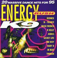 ENERGY RUSH - K9 - CD NEU Loveland – I Need Somebody The Grid – Texas Cowboys
