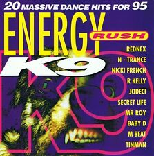 ENERGY RUSH - K9 - CD NEU Loveland – I Need Somebody The Grid – Texas Cowboys