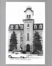pk34235:Real Photo Postcard-Town Hall,Wingham,Ontario