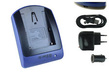 Cargador (USB) NP-FM50 para Sony Cyber-shot DSC-F707, F717, F828 / R1 / S30, S50
