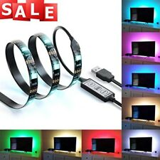 Accent LED Strips Bias Backlight RGB Lights & Remote Control for HDTV Xmas Gift