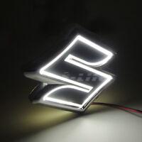 Car Tail Rear Logo Badge Emblem 5D LED Lights Bulbs Fits Suzuki SX4 SWIFT Alto