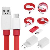 Dash Fast USB Type C Data Charger Cable + Travel Adapter for OnePlus 5T 5 3T 3 2