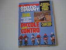 MOTOSPRINT 4/1990 GILERA XR-2/CAGIVA N 90/SUZUKI TS 125/HONDA CRM/YAMAHA DT 125