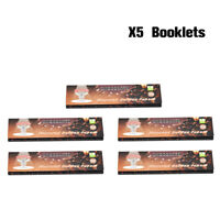 5PCS HORNET 110MM Chololate Flavored Smoking Cigarette Rolling Papers King Size