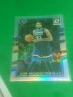 2017-18 Donruss Optic Karl Anthony Towns Silver Holo Prizm SP #89