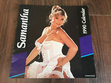 Rare Samantha Fox 1990 Calendar