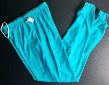Gk Elite Mens Large Green Gymnastics Competition Nylon Stirrup Pants Al