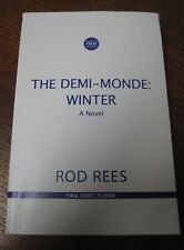 1st/1st Edition THE DEMI MONDE WINTER Rod Rees UNCORRECTED Proof THRILLER