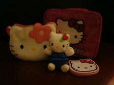 Hello Kitty Collection - Lunchbox, Purse, Plush Christmas Angel,  and Tin  Used