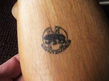 Vintage Wood & Metal Spring shoe trees Bear M TIMBRE SCHUTZMARKE allemande H4-43-46