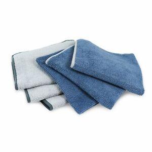 Norwex FACE & BODY CLOTH DENIM LT GREY LE COLORS 3 pack Microfiber BacLock