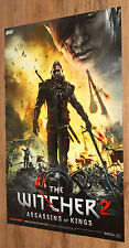The Witcher 2  Assassins of Kings / Portal 2 very rare Poster 76x52cm