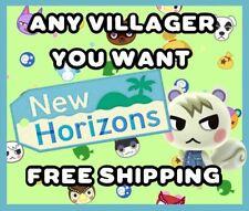 ANIMAL CROSSING NEW HORIZONS AMIIBO NFC CARD - ANY VILLAGER YOU WANT / FREE SHIP
