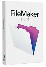 FileMaker Pro 14 Full install Version w/ Permanent License Windows Macintosh